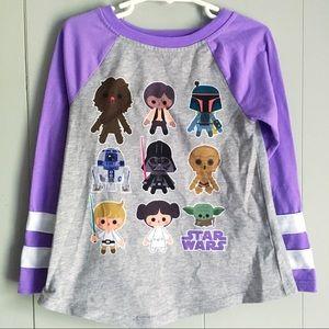 Disney • Star Wars Cute Cartoon Graphic Tee S